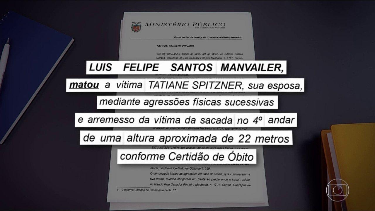 MP do Paraná denuncia biólogo pela morte da mulher que caiu do prédio
