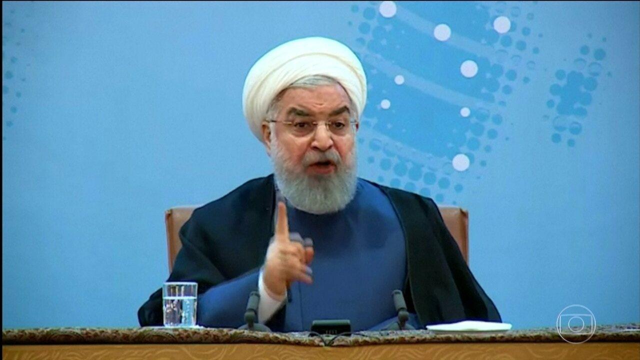 Trump recoloca em vigor sanções ao Irã, depois de abandonar o acordo nuclear com Teerã