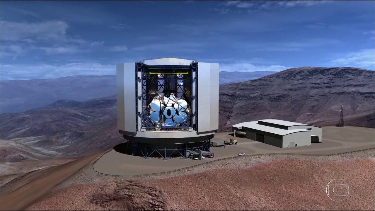 Brasileiros participam da construção do maior telescópio da história