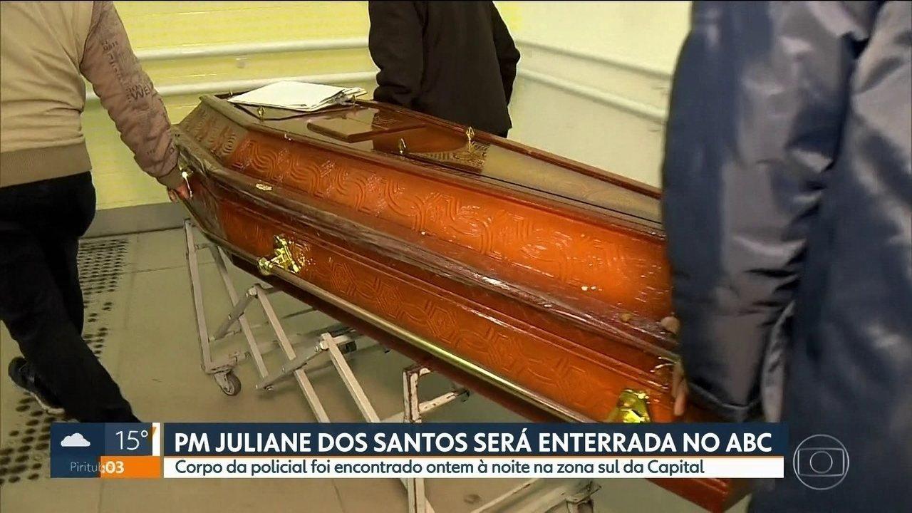 Corpo da policial militar que tinha desaparecido em Paraisópolis será enterrado no ABC