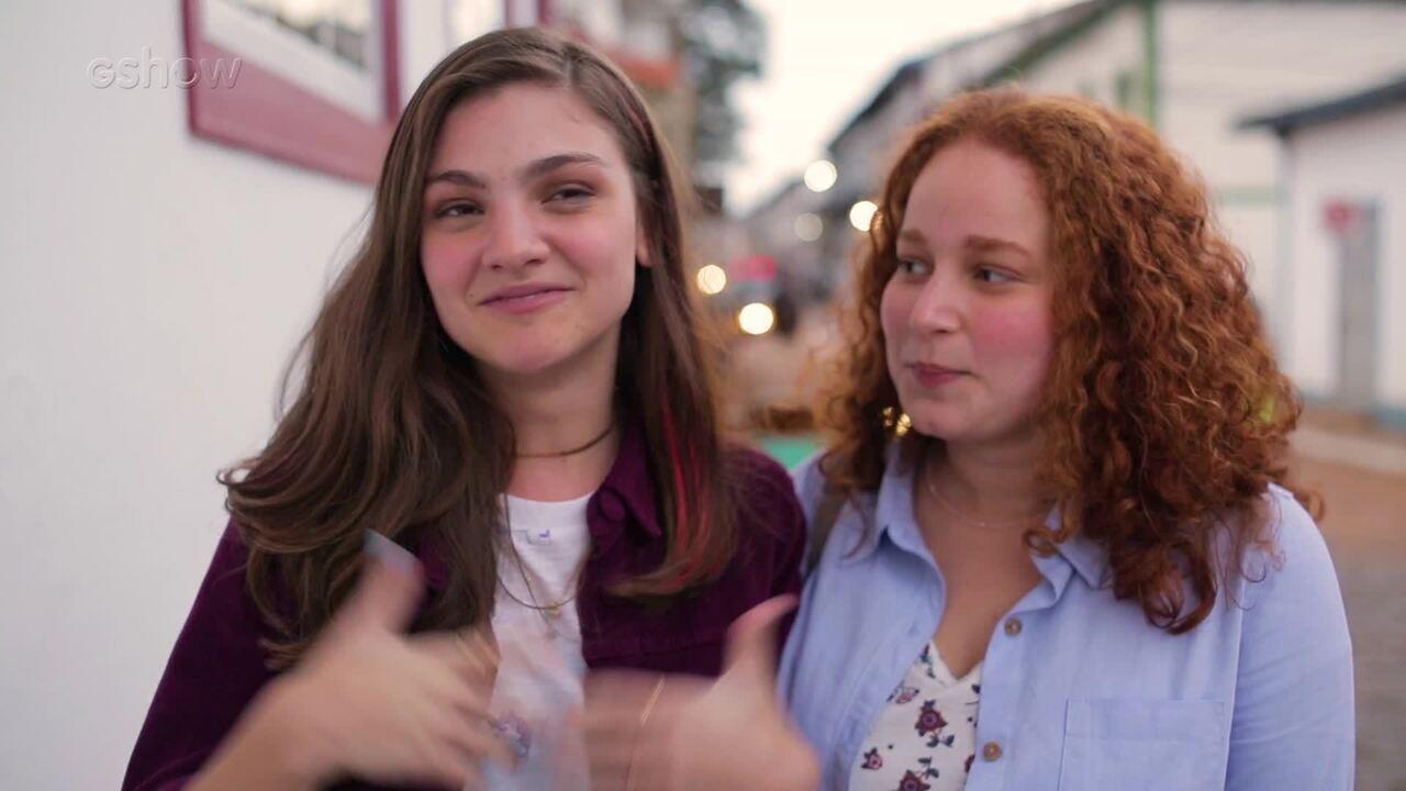 Debora Ozório e Catarina de Carvalho falam sobre seus personagens em 'Espelho da Vida'