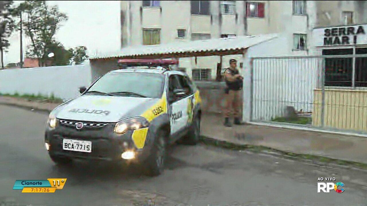 Polícia realiza operação de combate ao tráfico de drogas em São José dos Pinhais