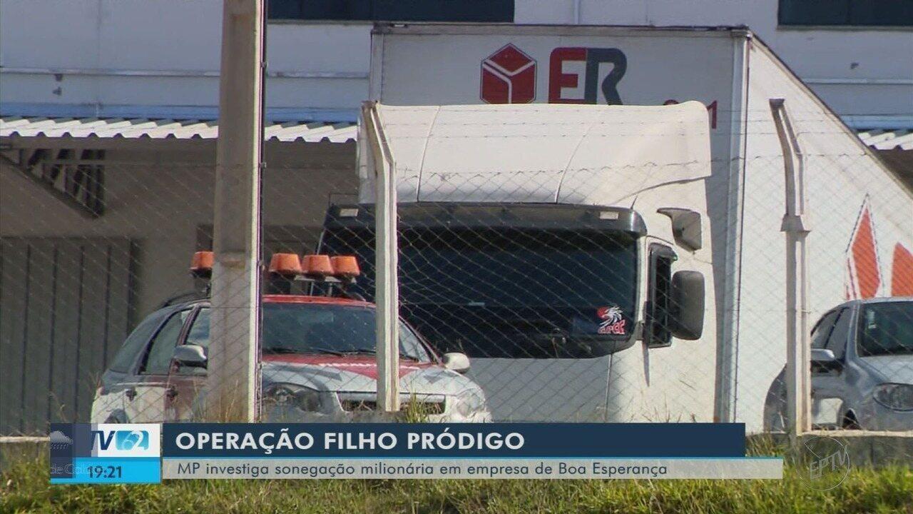 Ministério Público investiga supostas fraudes fiscais em empresa de Boa Esperança (MG)