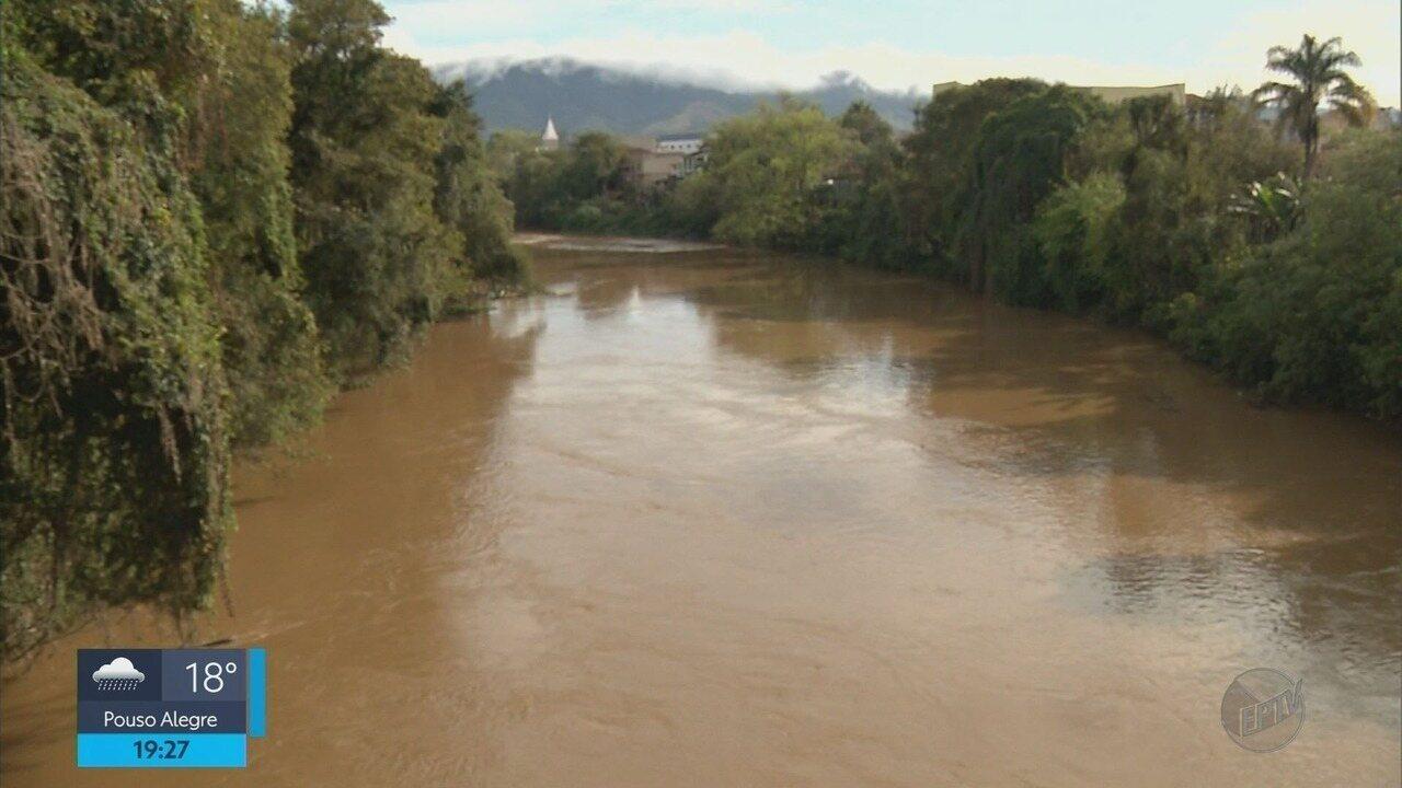 Chuvas acima da média ajudam na recuperação do Rio Sapucaí, em Santa Rita do Sapucaí