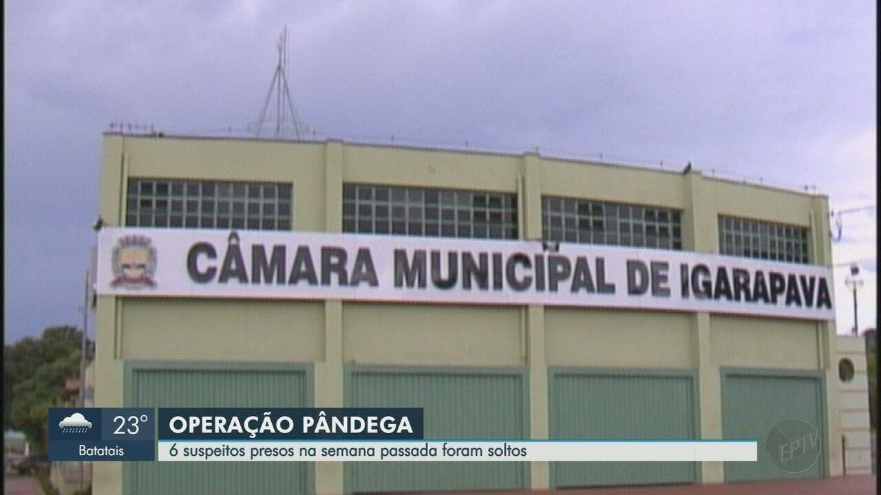 Justiça manda soltar seis dos sete presos por suspeitas de corrupção em Igarapava, SP