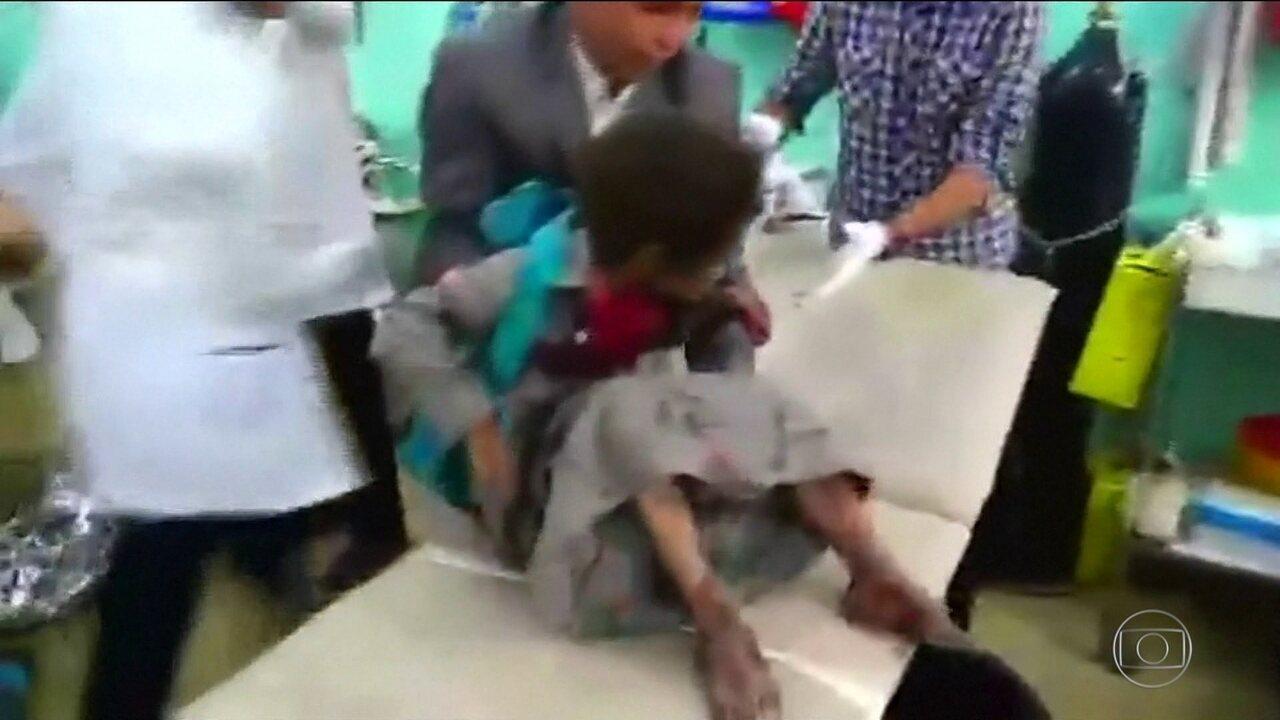 Bombardeio no Iêmen mata 29 crianças