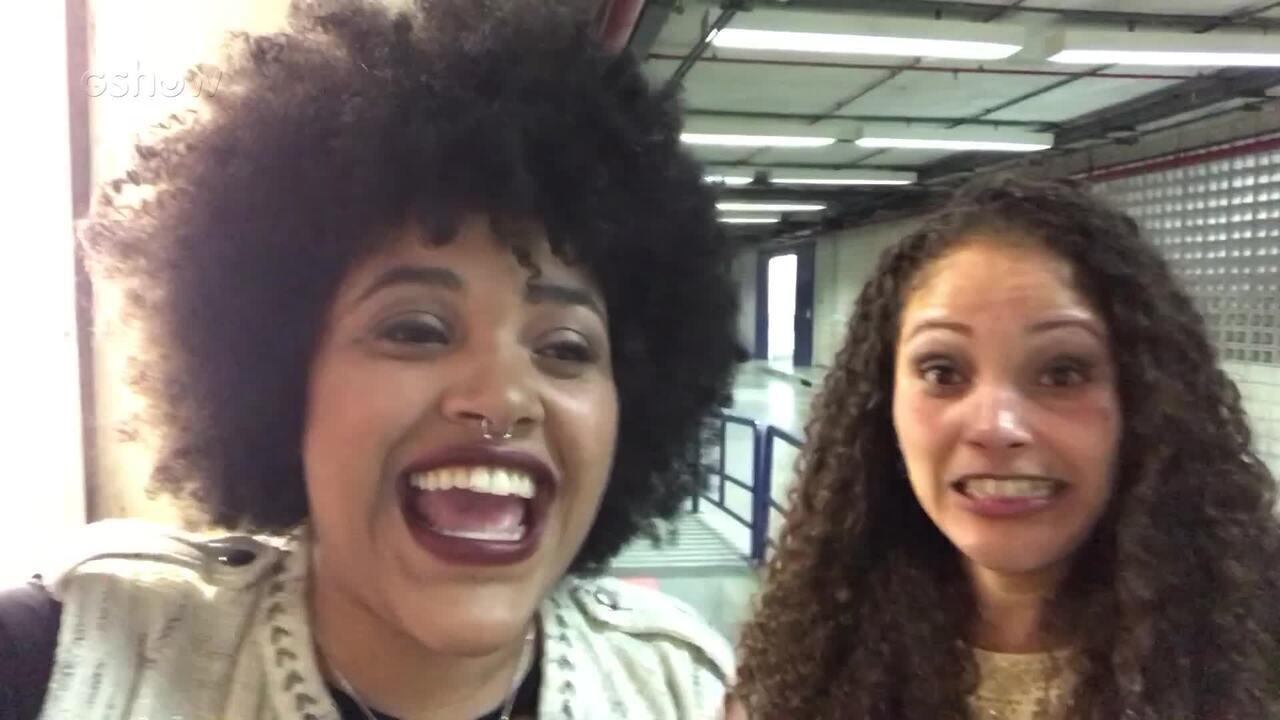 Confira a reação de Tamires Braga após a aprovação nas 'Audições às Cegas'