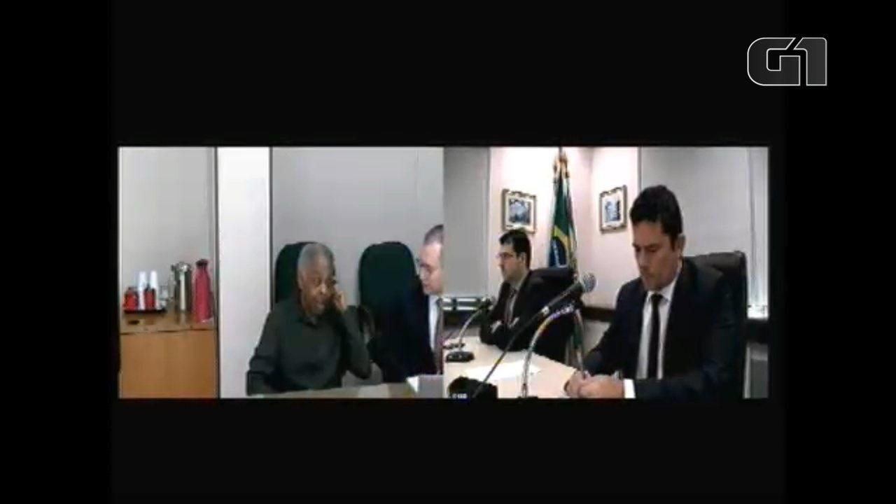 Gilberto Gil depõe a Moro como testemunha de defesa de Lula