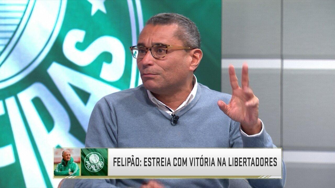 Luiz Felipe Scolari estreia com vitória na Libertadores contra Cerro Porteño fora de casa