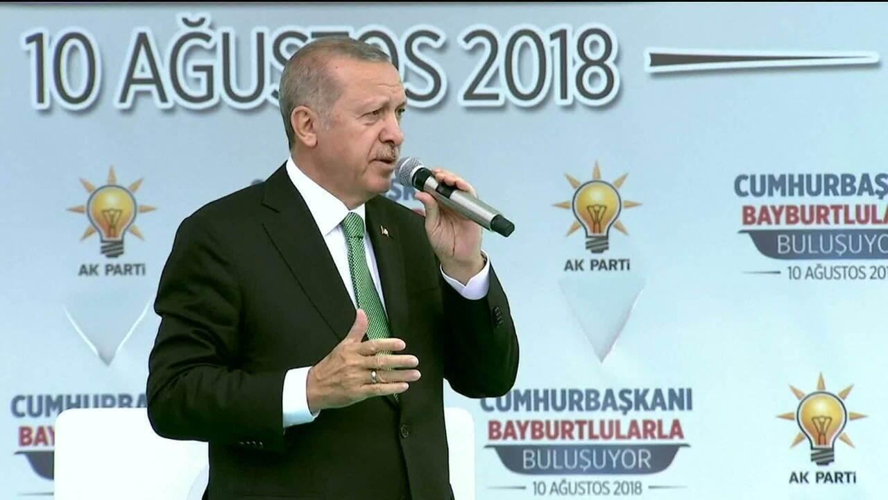 Moeda turca cai 18% nesta sexta-feira (10)