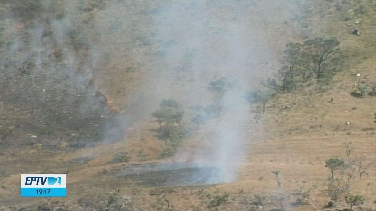 Delfinópolis já registra 231 focos de incêndio em 2018