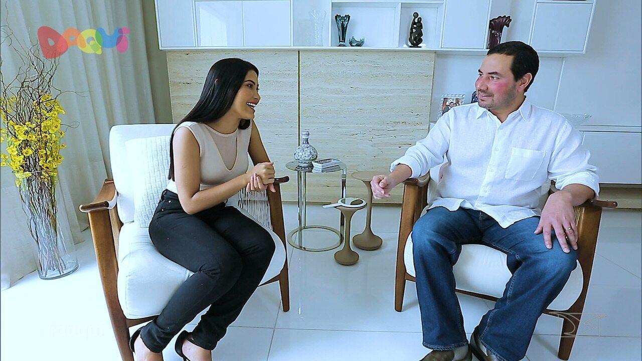 Kiu da Thay conversa com o dermatologista Eduardo Lago