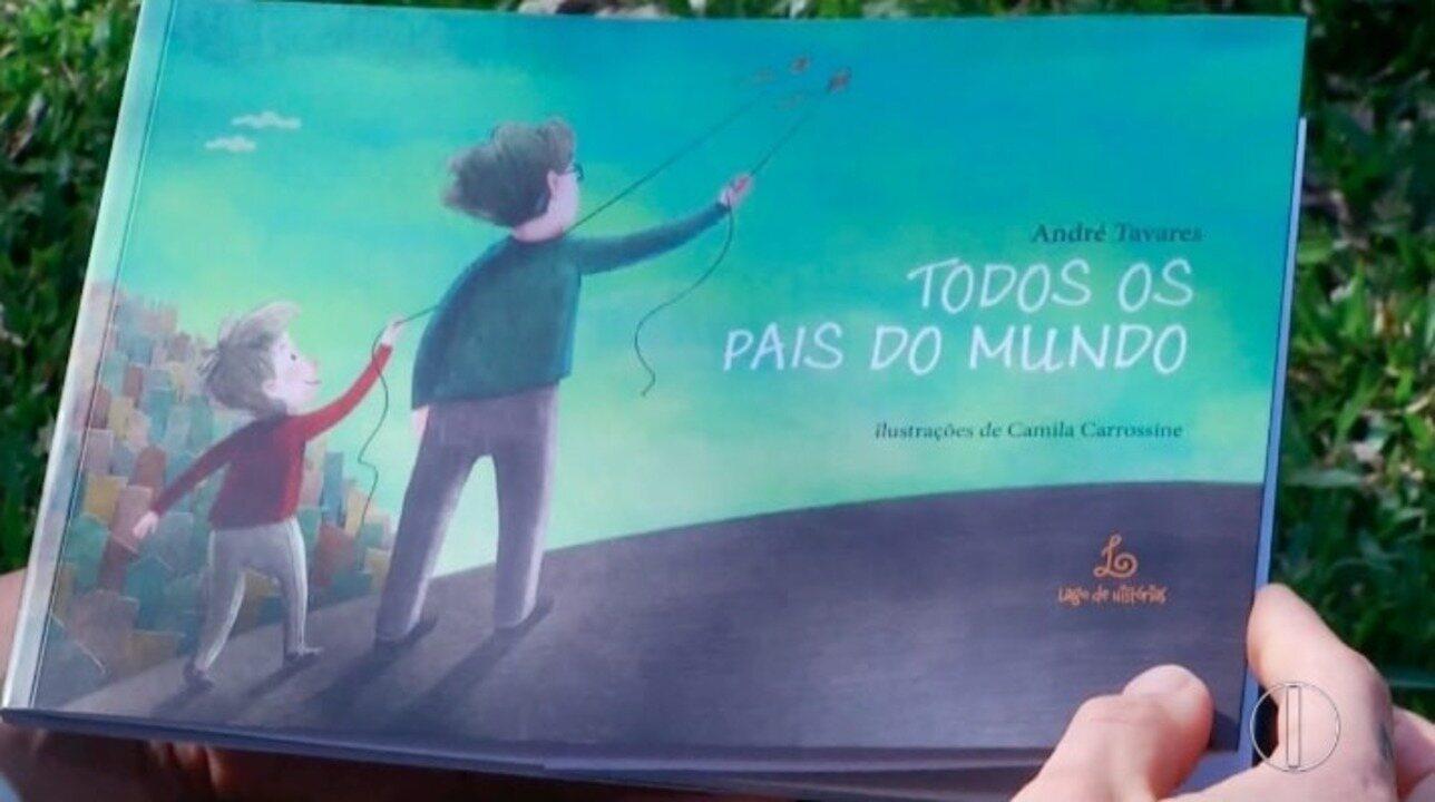 Texto de amor de filho pelo pai viraliza na internet e vira livro e música em Petrópolis