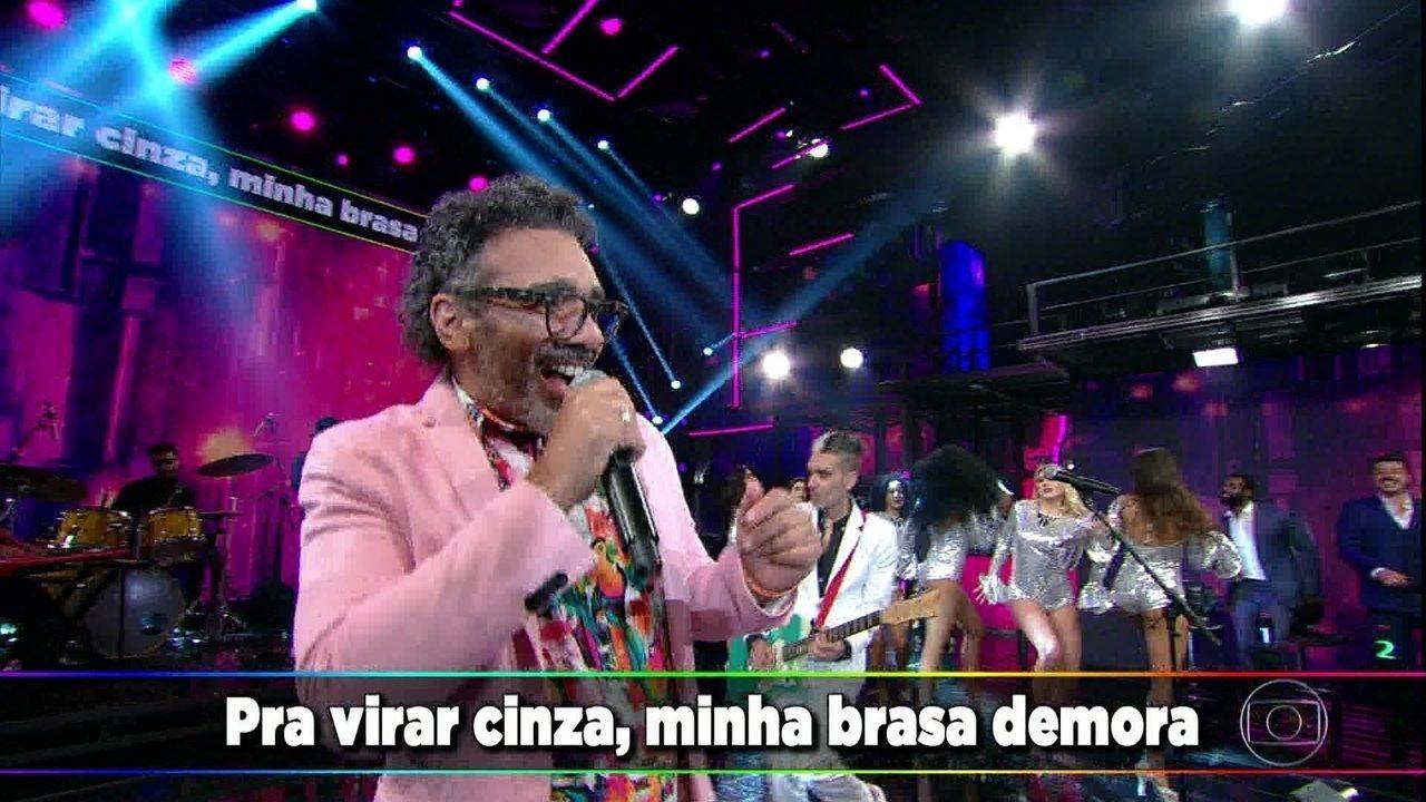 Simoninha e Max de Castro cantam 'Nem Vem Que Não Tem'