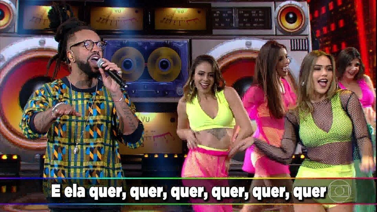Rael canta 'Envolvidão'