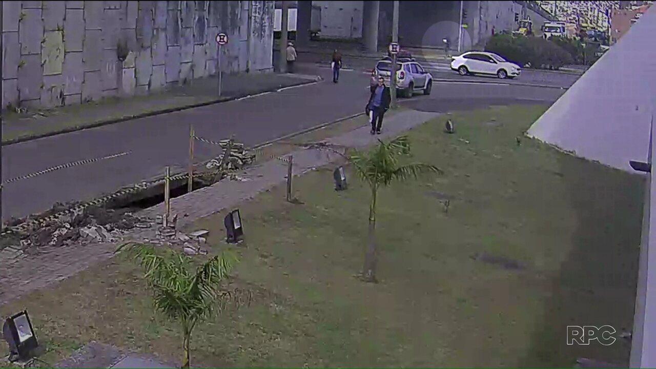 Polícia Civil divulga novas imagens do acidente na Linha Verde