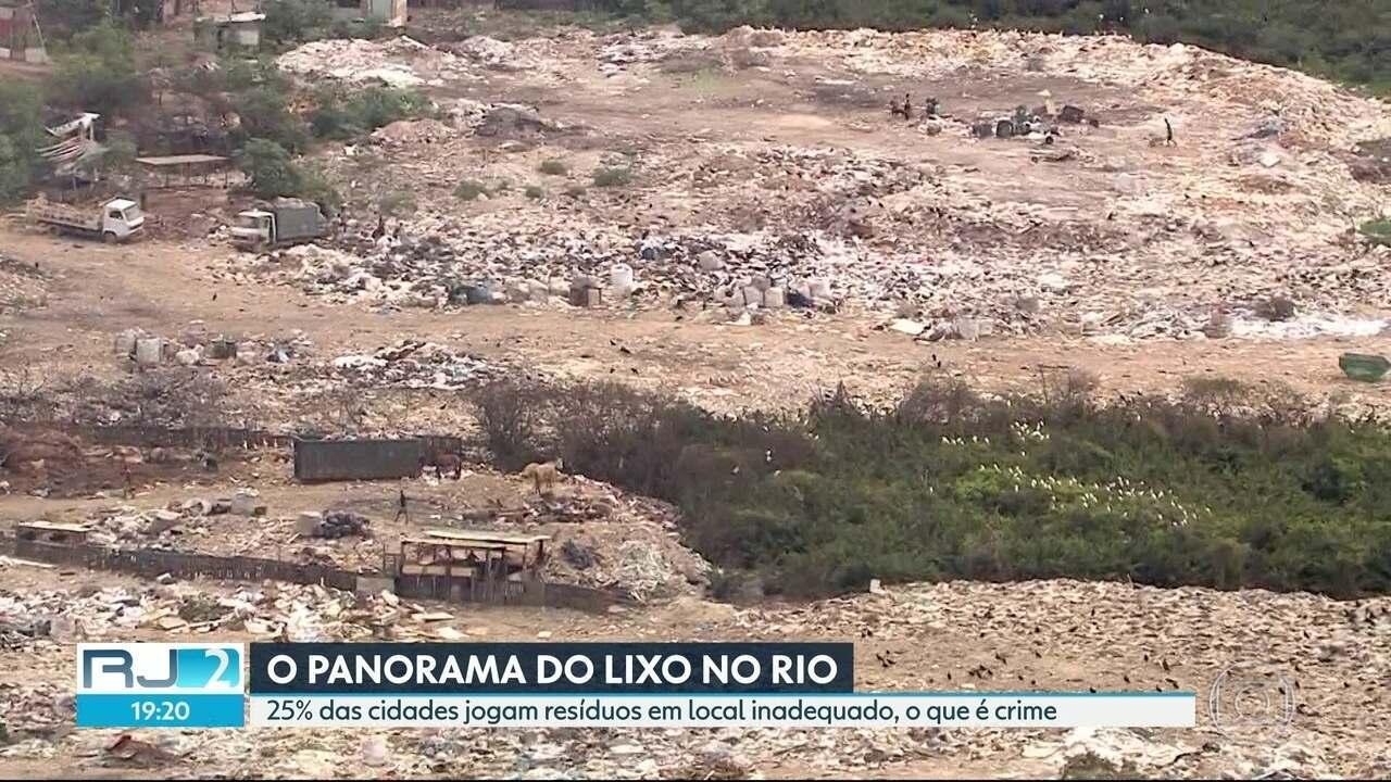 Prefeituras despejam lixo em locais irregulares, o que é crime ambiental