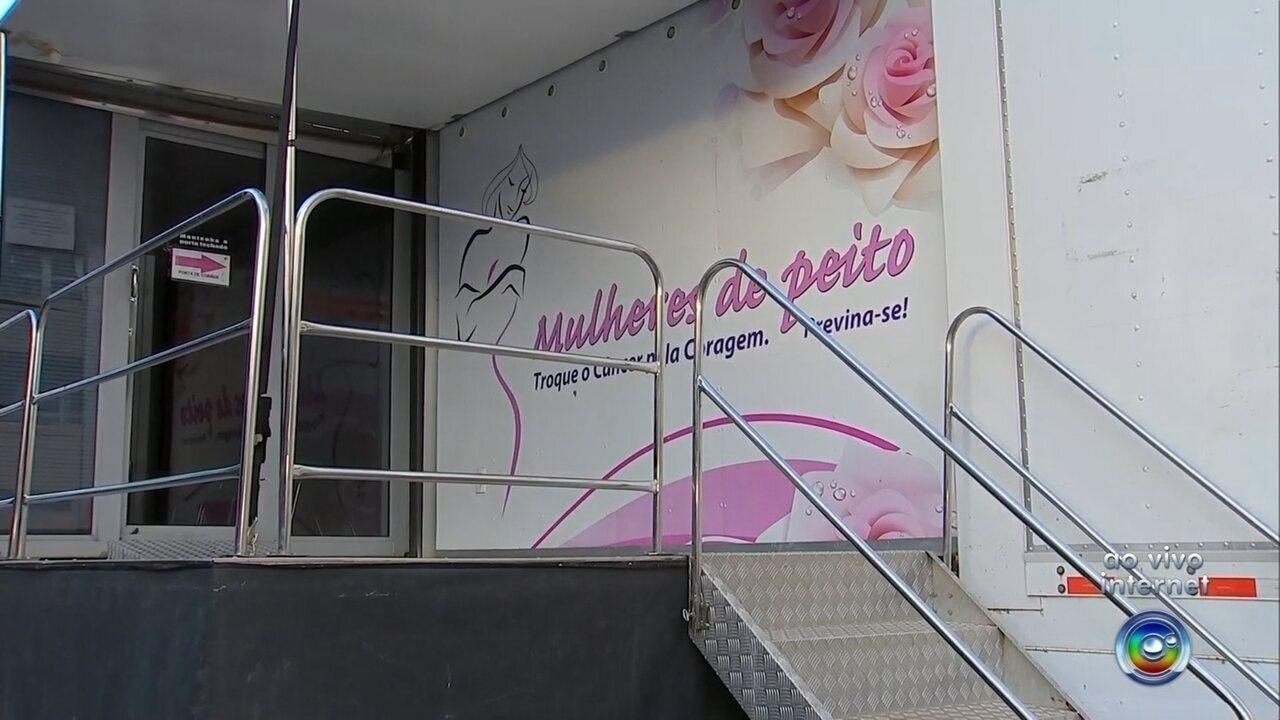 b1bd3f97a3 Programa  Mulheres de Peito  faz exames de mamografia gratuitos em Tupã