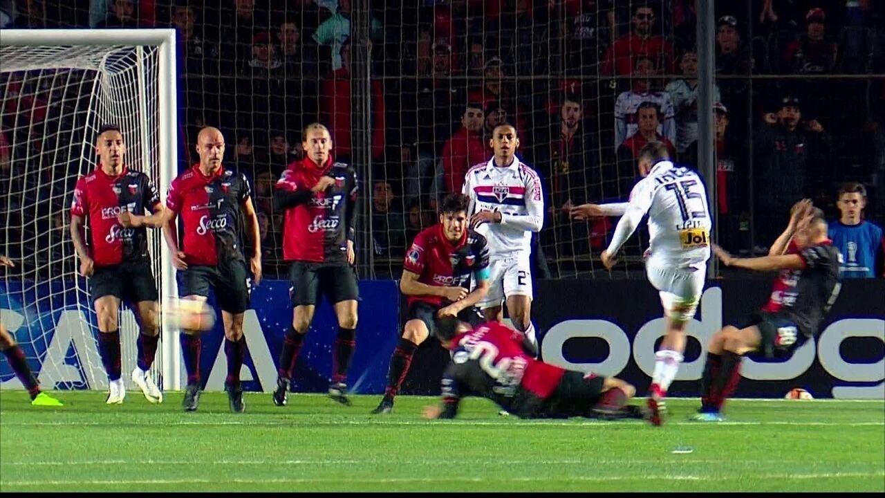 Melhores momentos de Colón 0 (5) x (3) 1 São Paulo, pela Copa Sul-Americana