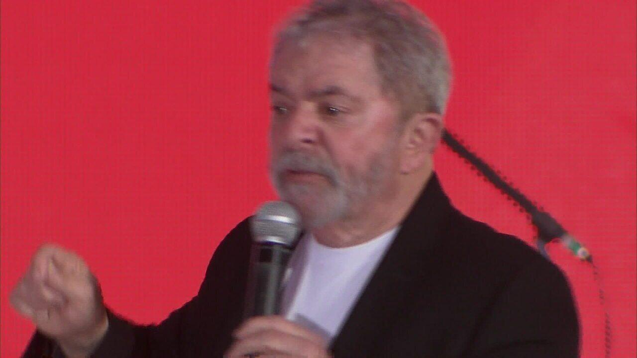 Pedido de registro de candidatura de Lula é publicado