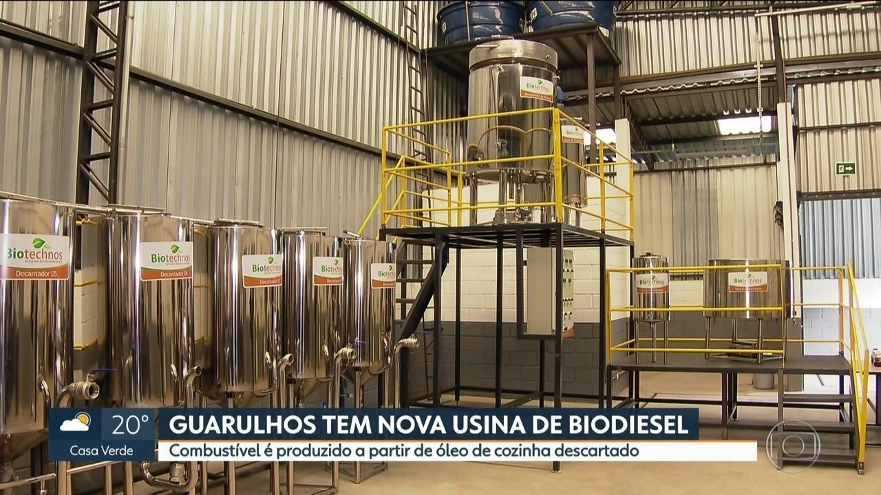 Guarulhos ganha usina de biodiesel produzido a partir do óleo de cozinha