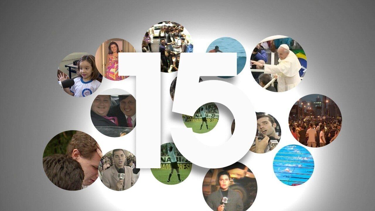 Especial de aniversário de 15 anos da Rede Vanguarda - Bloco 1