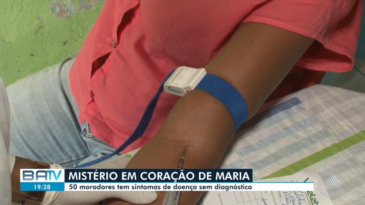 Doença misteriosa atinge 50 pessoas com mesmos sintomas em Coração de Maria