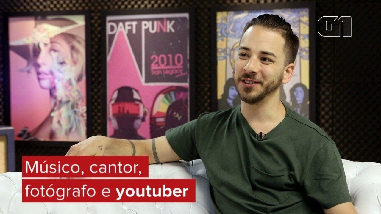 Junior Lima perde o posto de 'irmão da Sandy' e fala sobre a carreira de youtuber