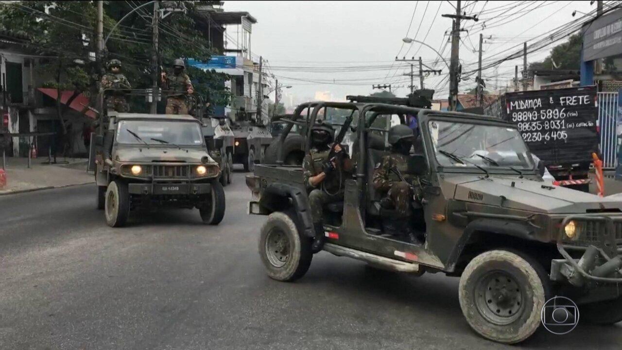 No Rio, soldados do Exército saem de favelas após cinco dias de operação
