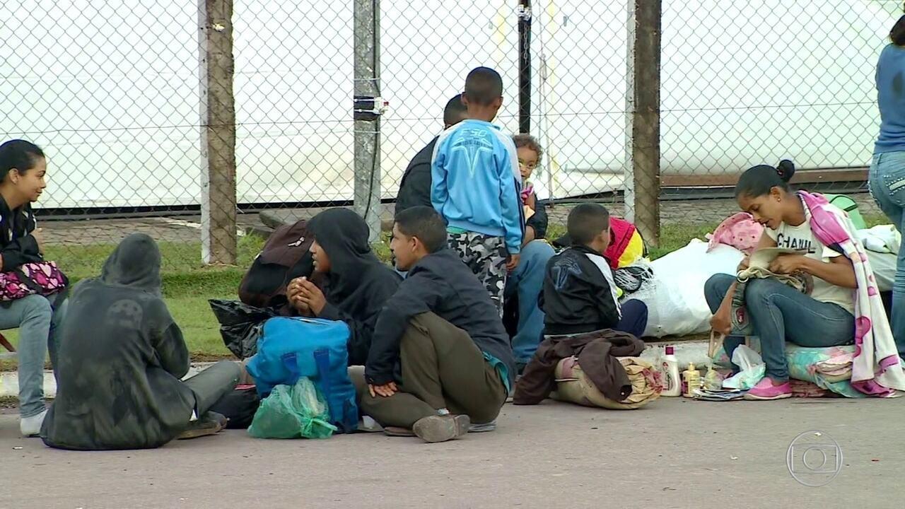 Pacaraima (RR) vira barril de pólvora por causa de refugiados da Venezuela