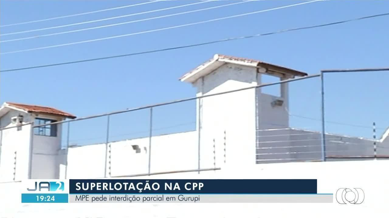 MPE quer que Justiça interdite parcialmente presídio em Gurupi
