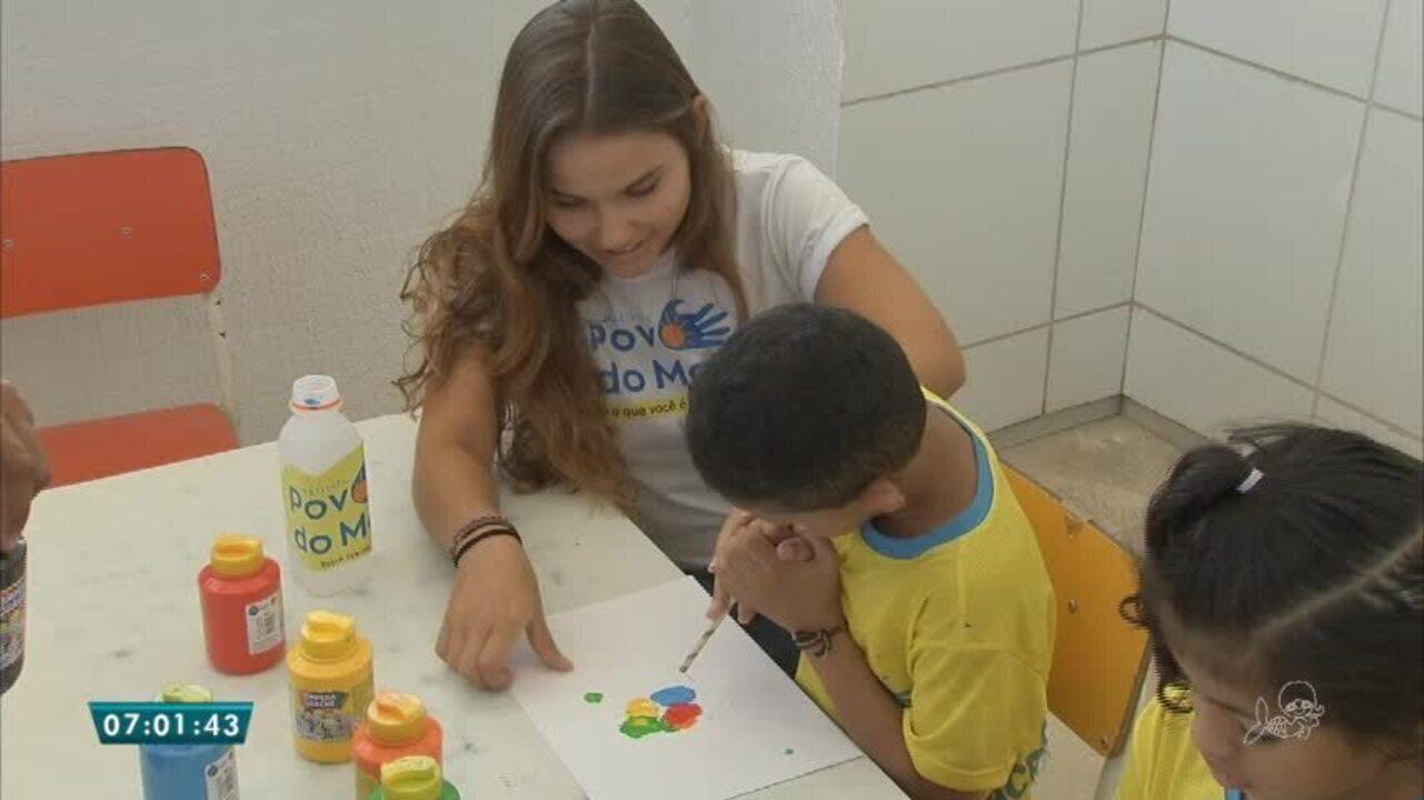 Pequenos gestos voluntários fazem toda a diferença