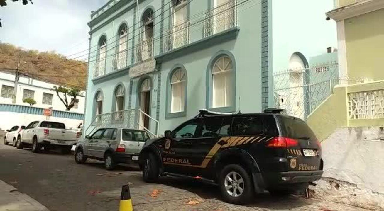 Polícia Federal realiza operação na cidade de Piranhas, Sertão de Alagoas