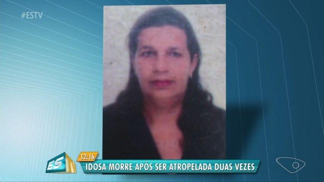 Mulher de 66 anos é morta após ser atropelada duas vezes, no ES