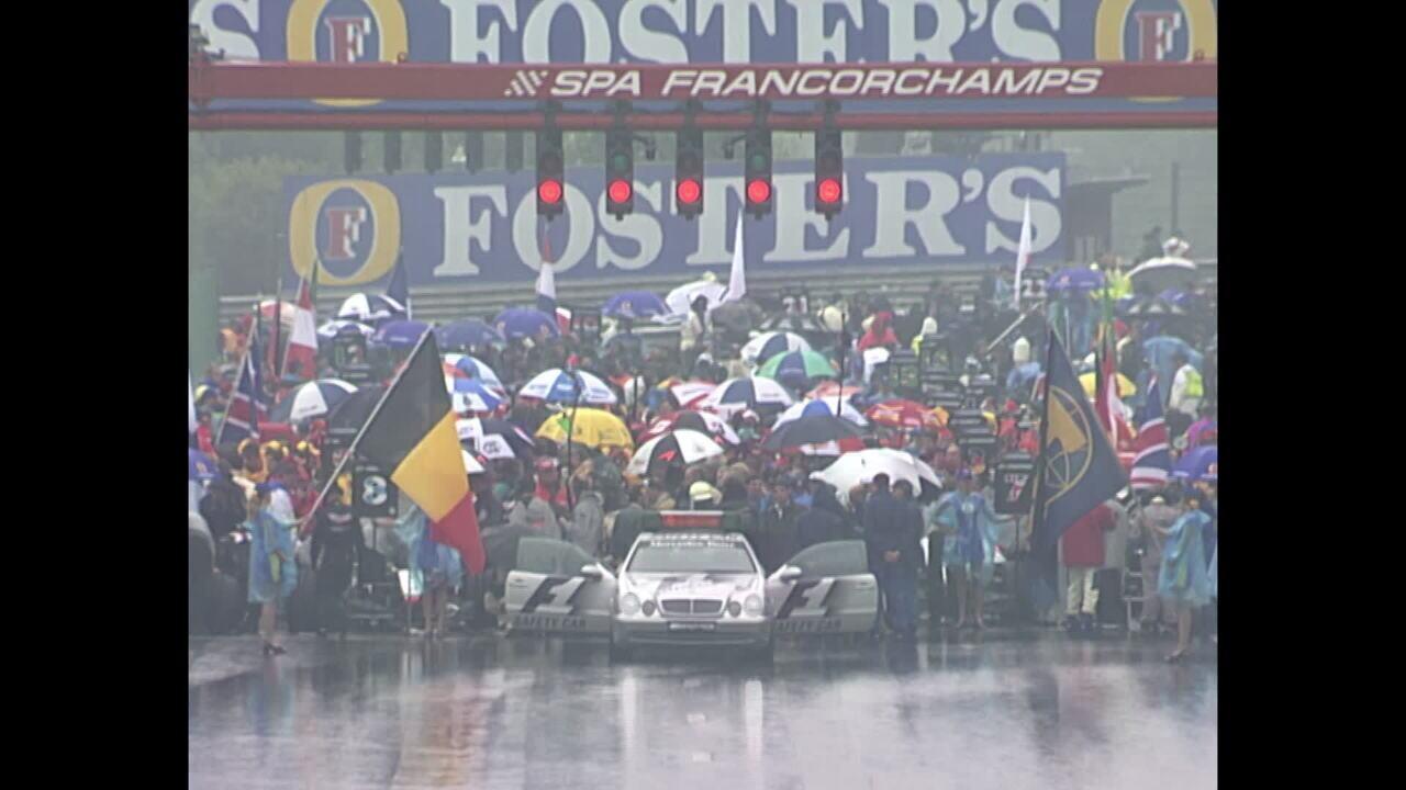 Melhores momentos do GP da Bélgica de 1998