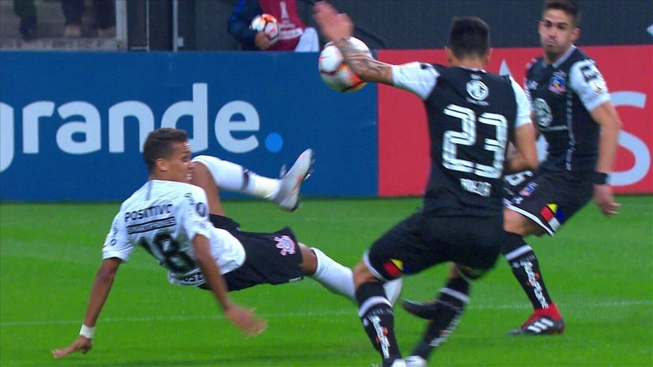 Melhores momentos de Corinthians 2 x 1 Colo-Colo pelas oitavas de final da Libertadores