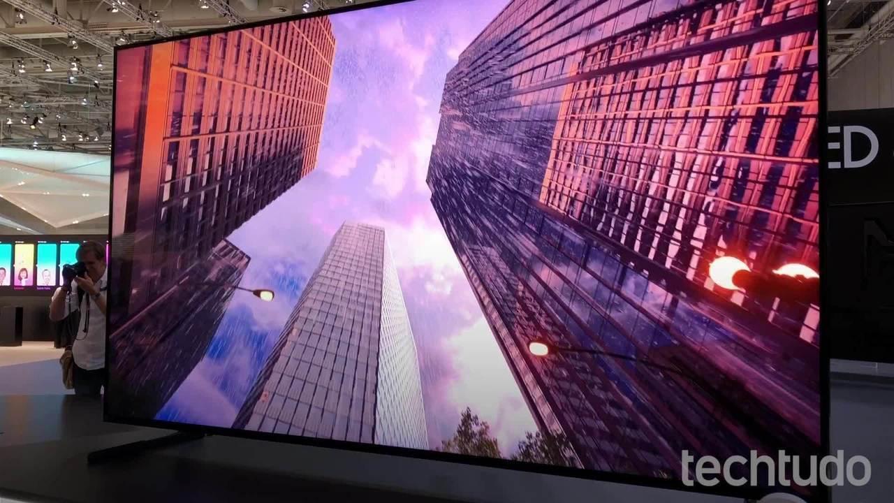 Conheça a nova linha de TVs 8K da Samsung