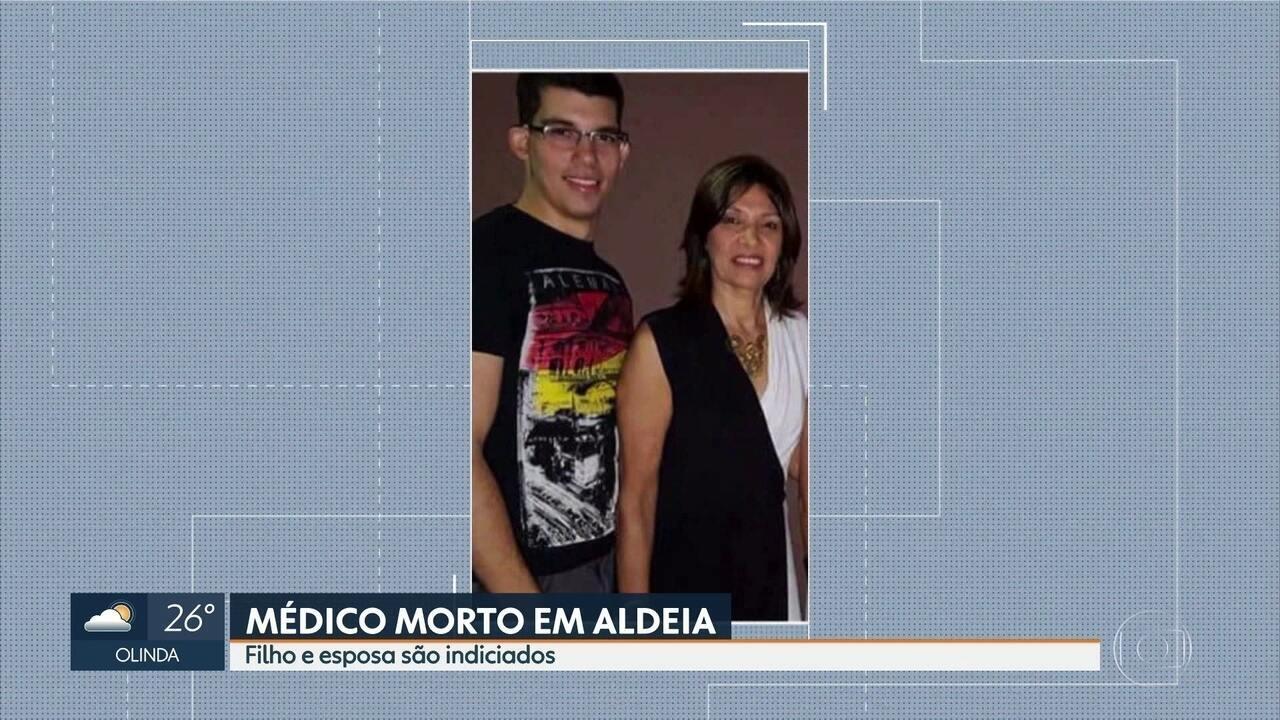 Esposa e filho de médico encontrado esquartejado no Grande Recife são indiciados