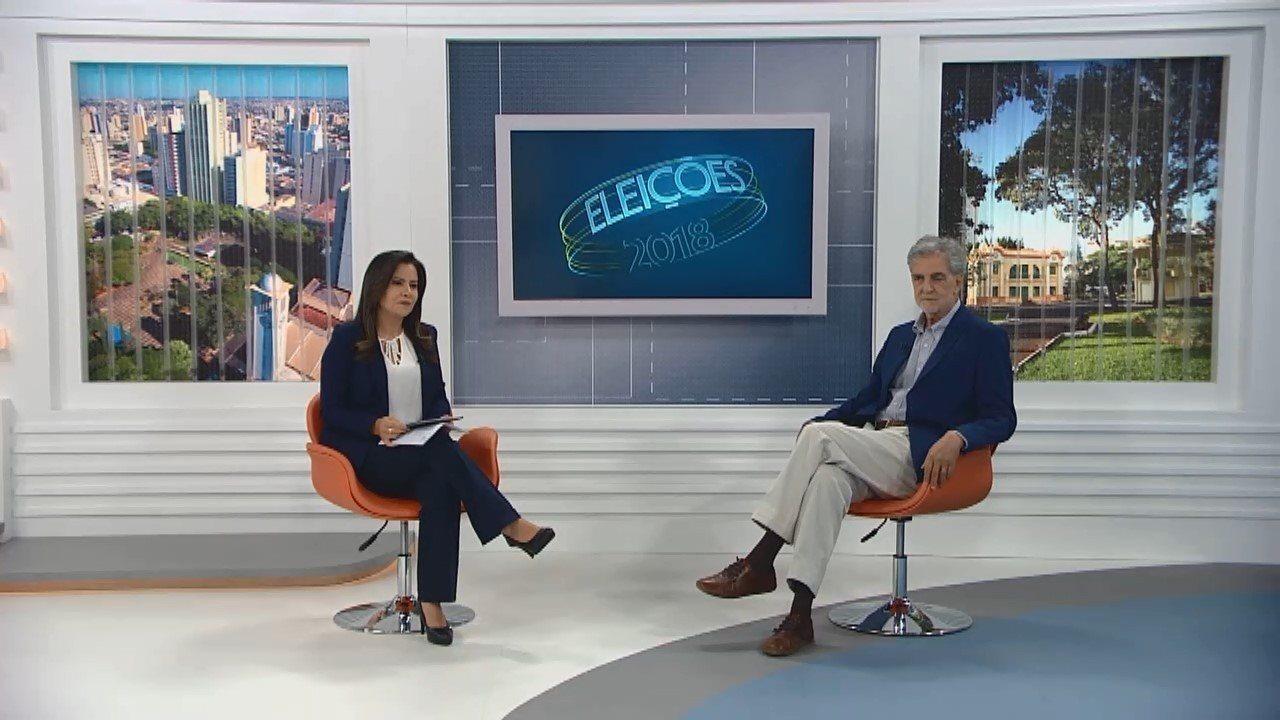 Candidato ao governo de Minas, João Batista Mares Guia é entrevistado na TV Integração