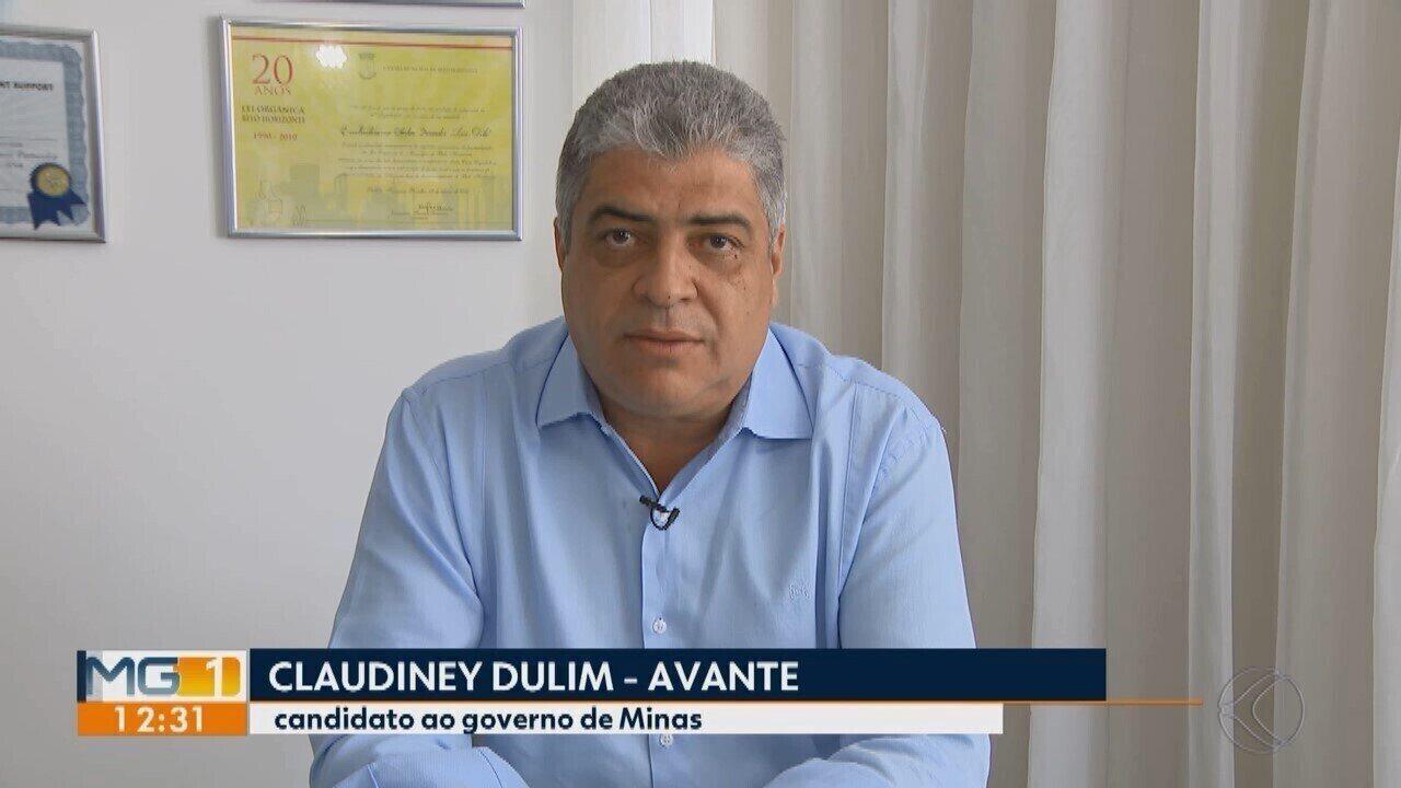 Eleições 2018: candidato ao governo de MG, Claudiney Fulim dá entrevista à TV Integração