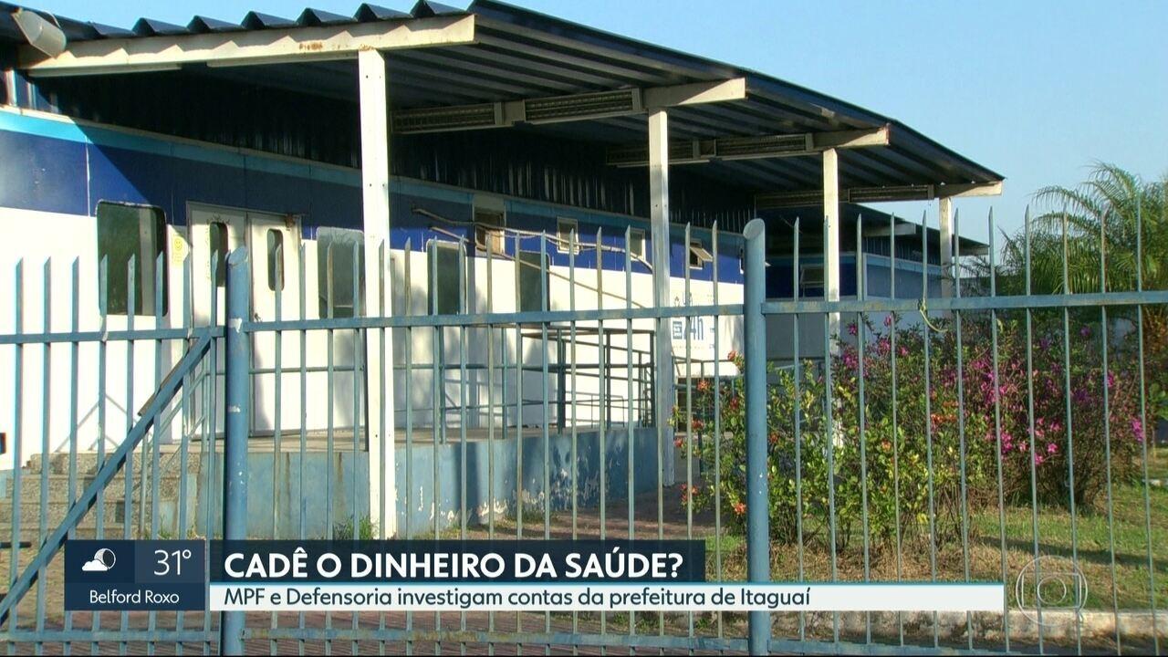 Governo Federal manda fechar UPA da Itaguaí e cobra dinheiro da prefetura