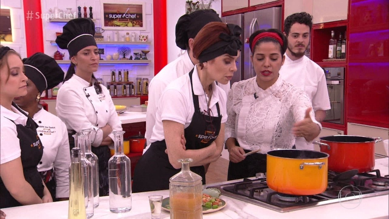 Chef Ana Luiza Trajano dá workshop no 'Super Chef' e prepara pratos deliciosos