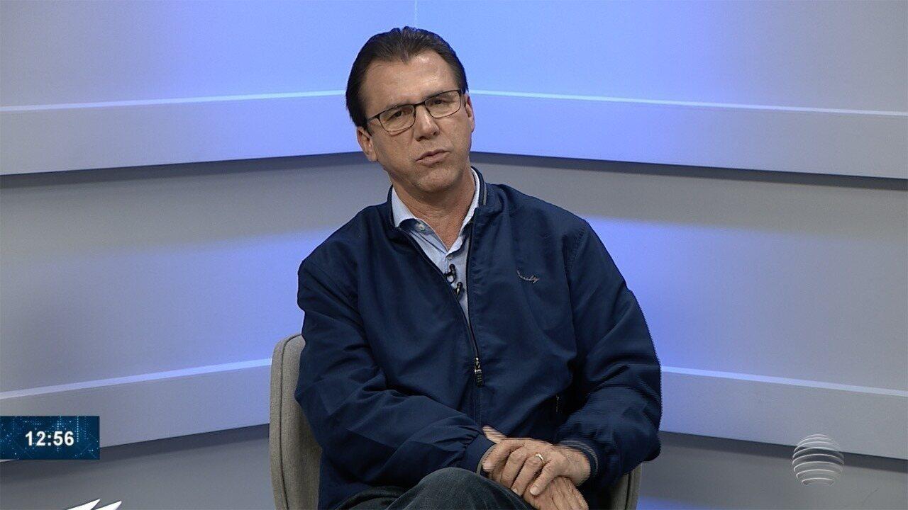 Luiz Marinho concede entrevista ao Fronteira Notícias