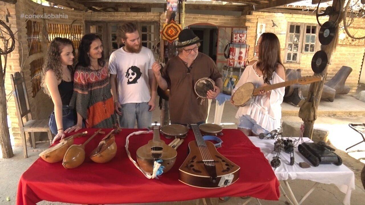 Em São Félix do Coribe, família Mallero promove o desenvolvimento da música
