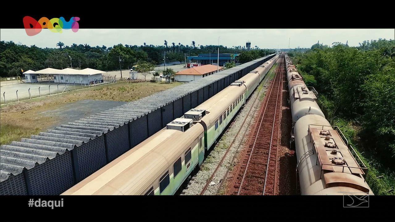Conheça o Trem de Passageiros da Estrada de Ferro Carajás no MA