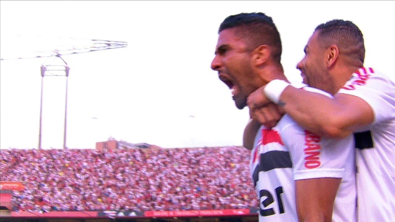 Veja gol de Tréllez pelo São Paulo