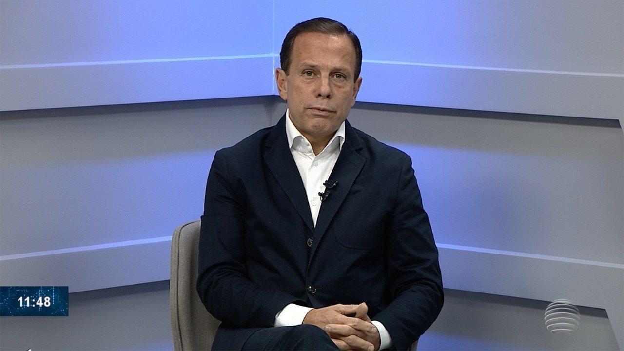 João Doria promete implantar medidas para reduzir os preços dos ... 2a4209215006e