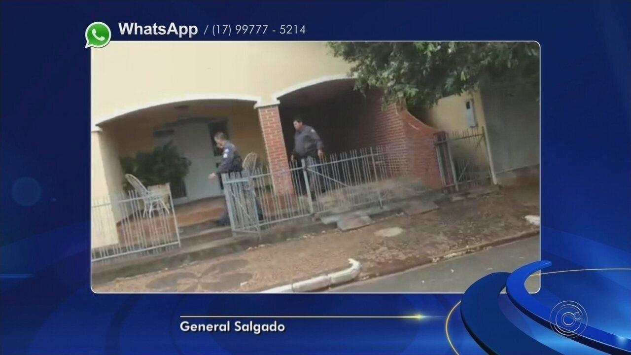 Ladrões são presos suspeitos de tentar invadir lotérica e roubar loja em General Salgado