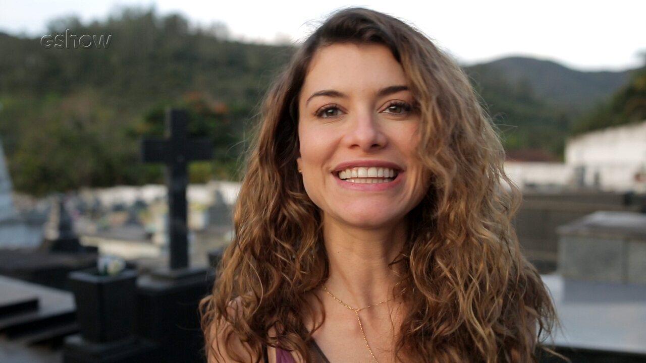 Alinne Moraes Sex atrizes comentam bastidor das cenas quando isabel socorre cris após desmaio