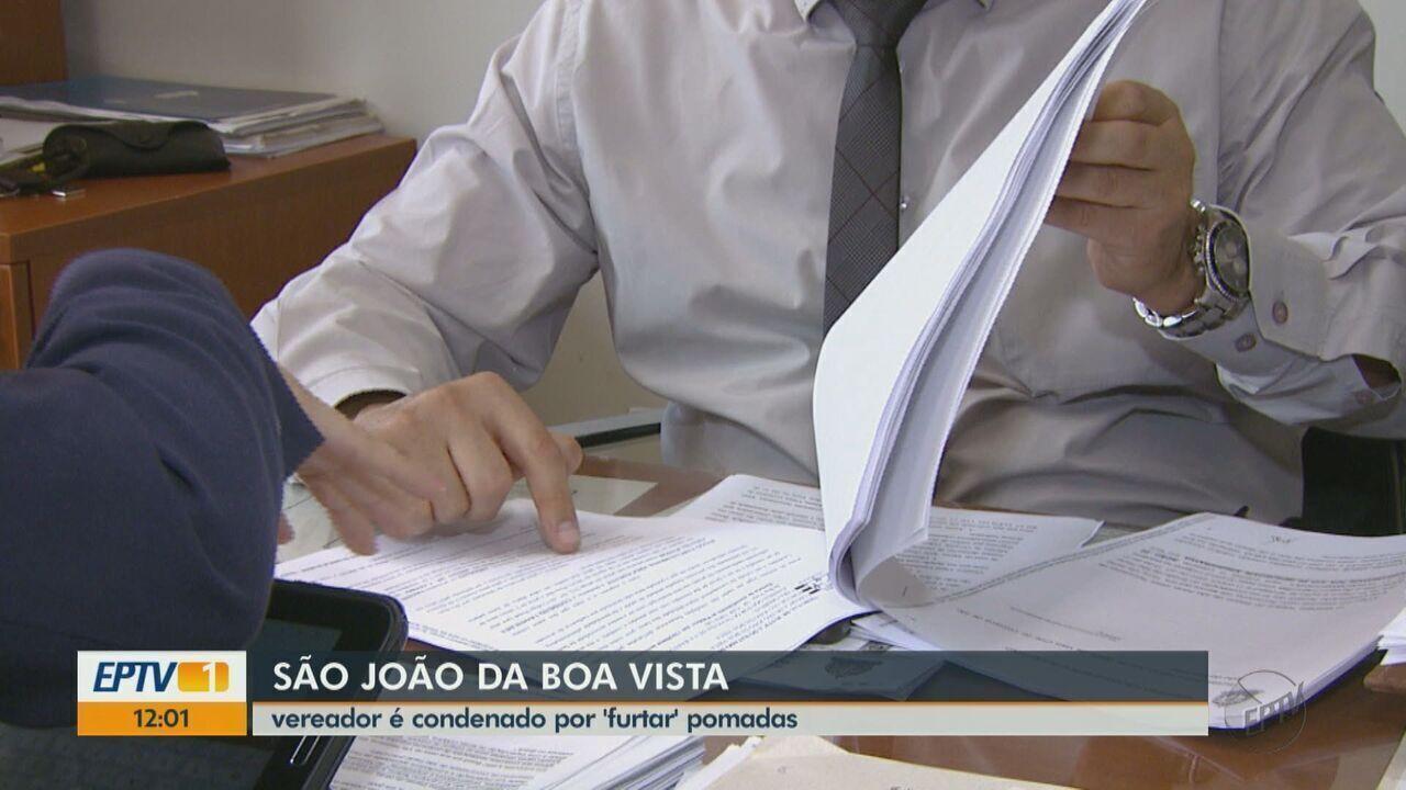 Vereador de São João da Boa Vista é condenado por 'furtar' pomadas de pronto-socorro